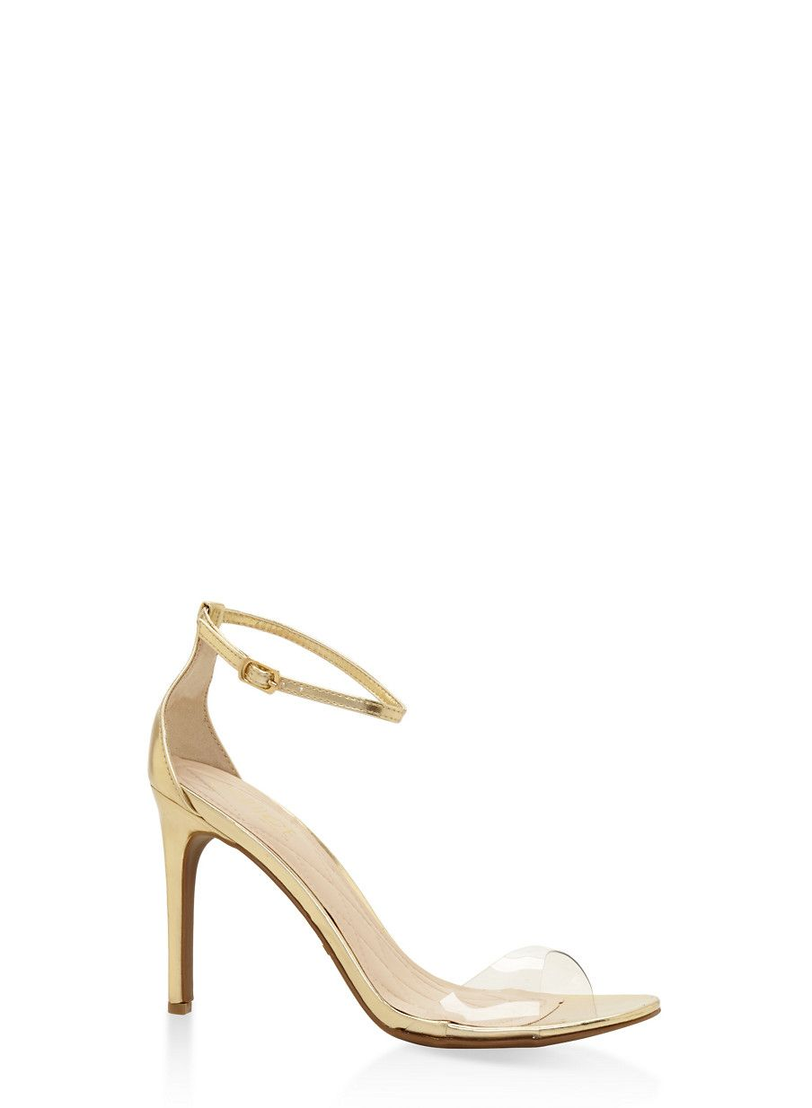 Ankle Strap High Heel Sandals Yellow Size 11 Products Ankle Strap High Heels Sandals Heels