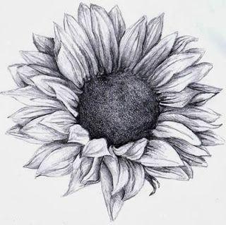 Sunflower Tattoo Tatuajes Girasoles Girasoles Dibujo Como