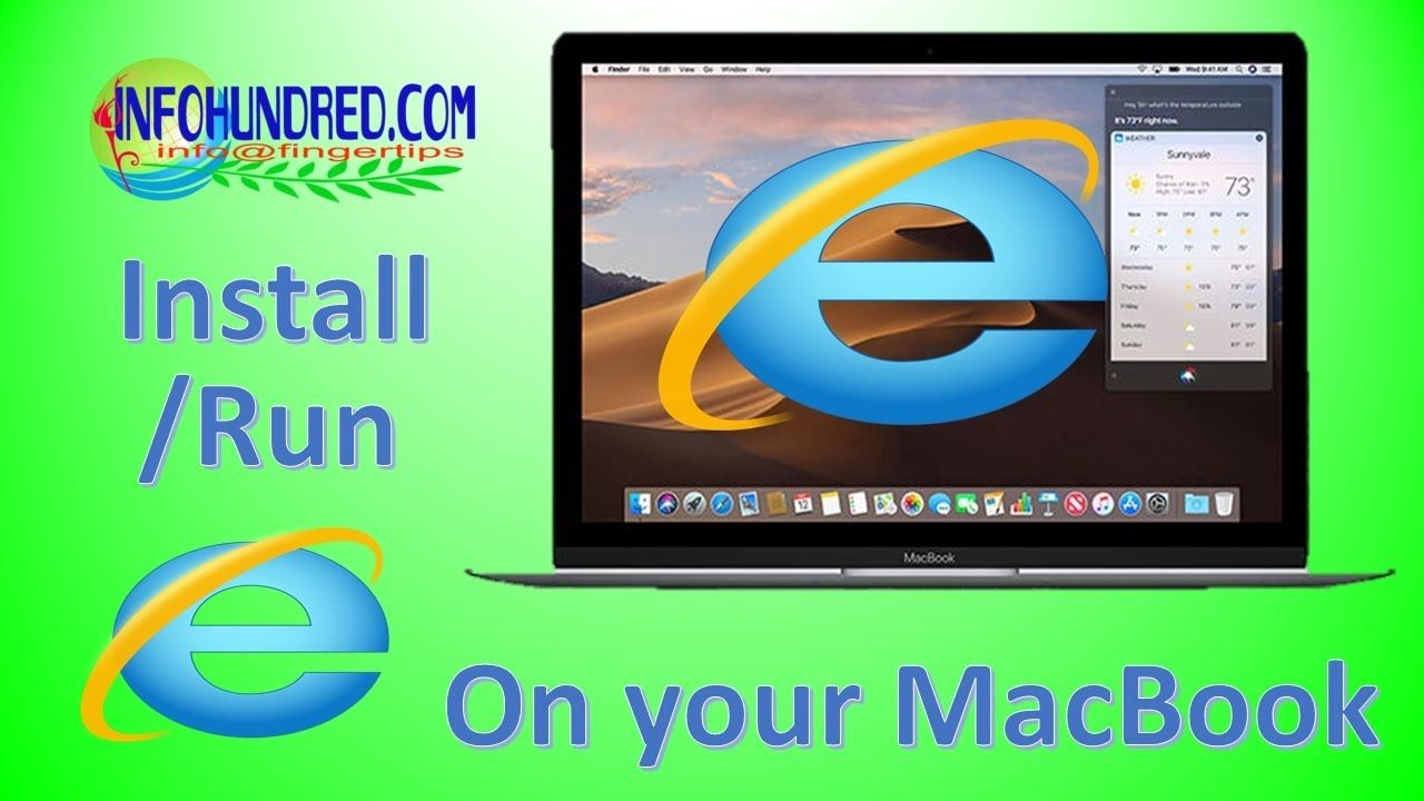 How to install explorer in macbook Installation