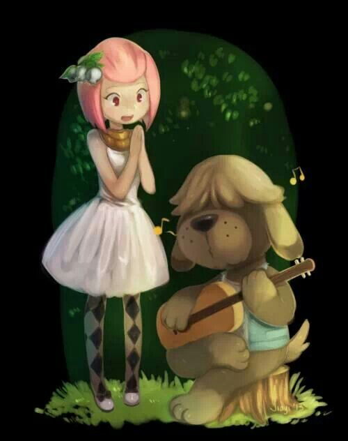 Shep ♥ Animal crossing, Animal crossing fan art, Animal