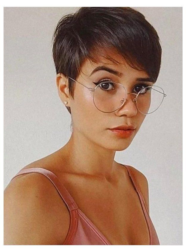 short pixie haircuts for thick hair Gallery