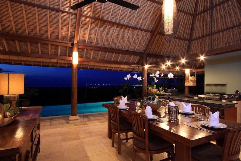 Villa Bayu Dining Area I Jimbaran, Bali