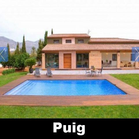 Vakantiehuis Jalon Costa Blanca Villa Spanje huren Puig