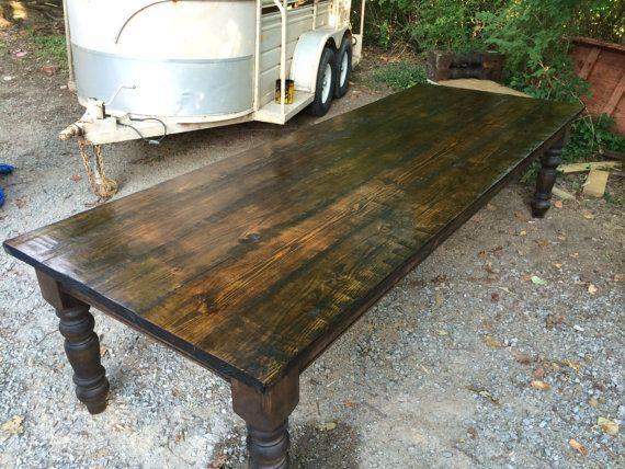 Bon Massive 10 Foot Farm Table