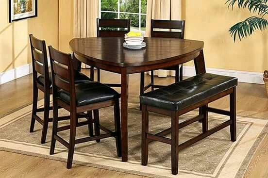 22+ Triangle counter height dining table set Trending