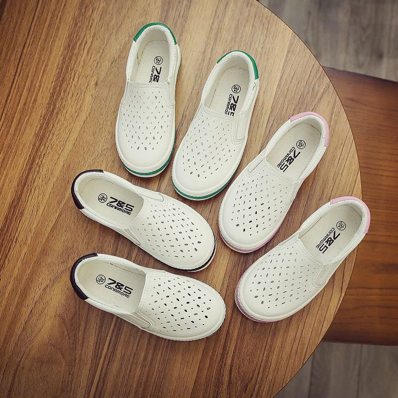 >> Click to Buy << children's canvas shoes low sports shoes Toddle shoes boys and girls flats kids sneakers infantil PU Microfiber Leather loafers #Affiliate