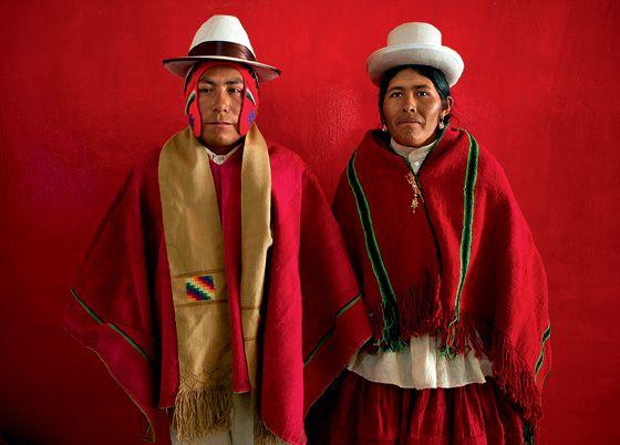 Bolivian Wedding Pair