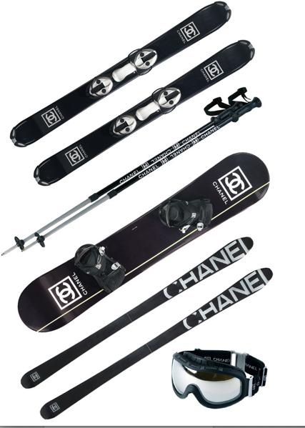 42899cc997 Chanel snow gear!  chanel  luxury  snowboarding  skiing  fashion ...