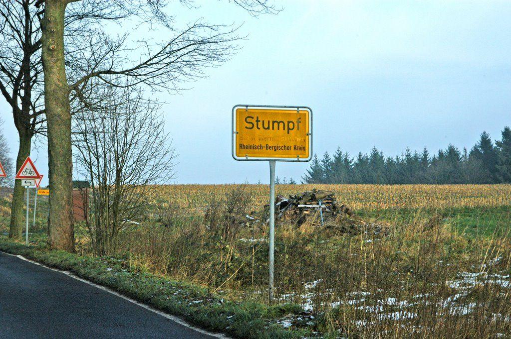 Stumpf, Wermelskirchen, Nordrhein-Westfalen 2008 ☺