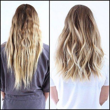 Langes Haar mittellang schneiden – neue Frisuren 2018   – Inspiration♧