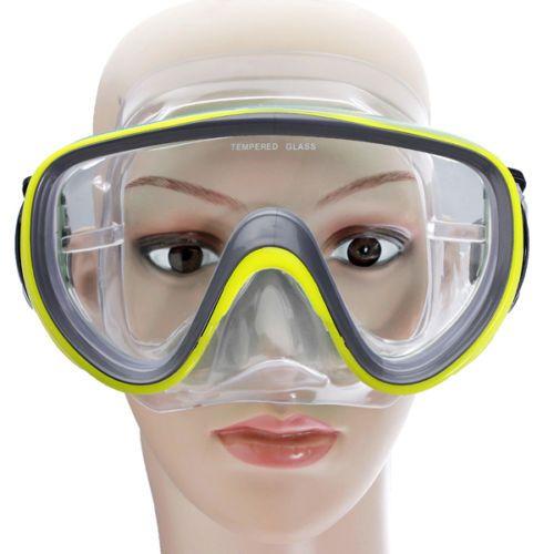 Adults Divers Unisex PVC DIVING MASK Goggles SET Scuba dive snorkelling