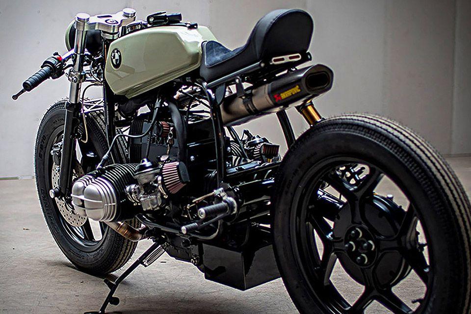 Bmw Garage Amsterdam : Ironwood custom bmw r motorcycle bmw moto bmw
