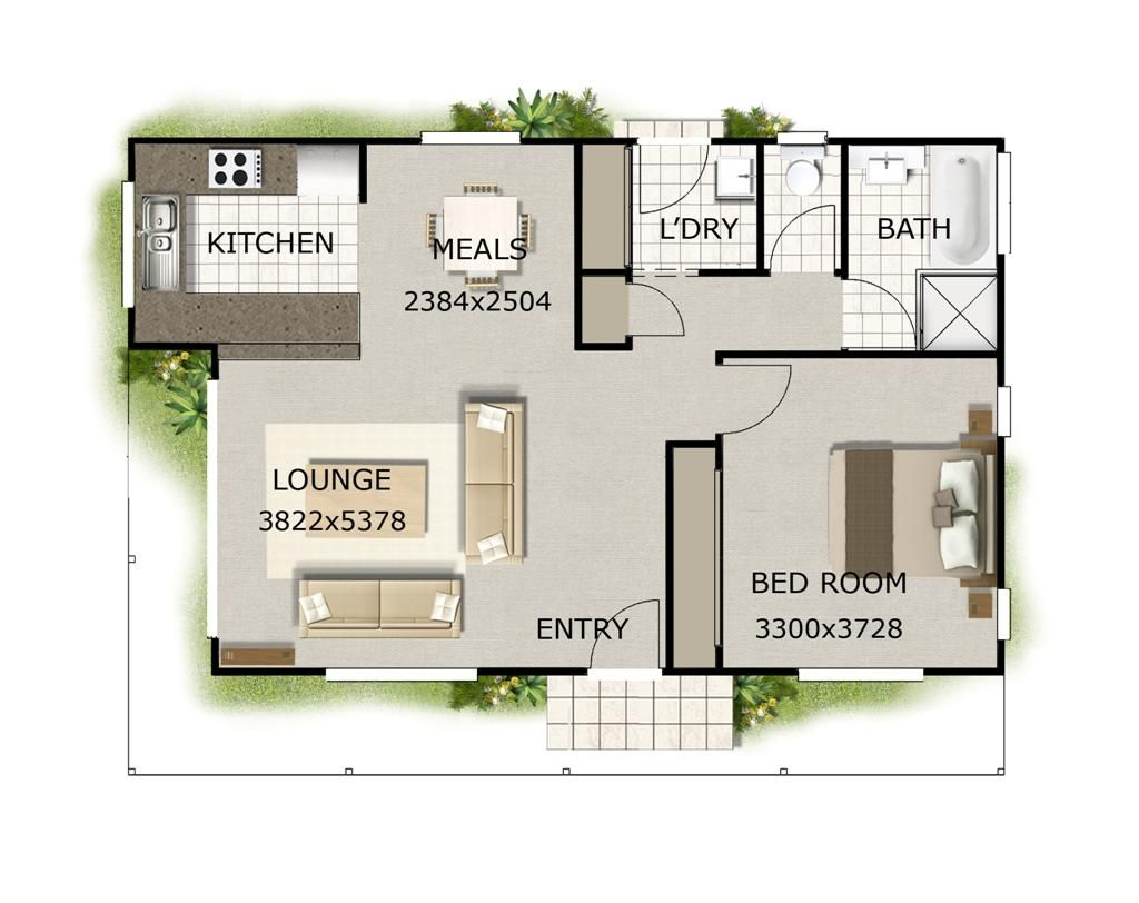 Small house design  Small houses and Tiny houses floor plans on    Tiny House Floor Plans   Small house design  small size house plan