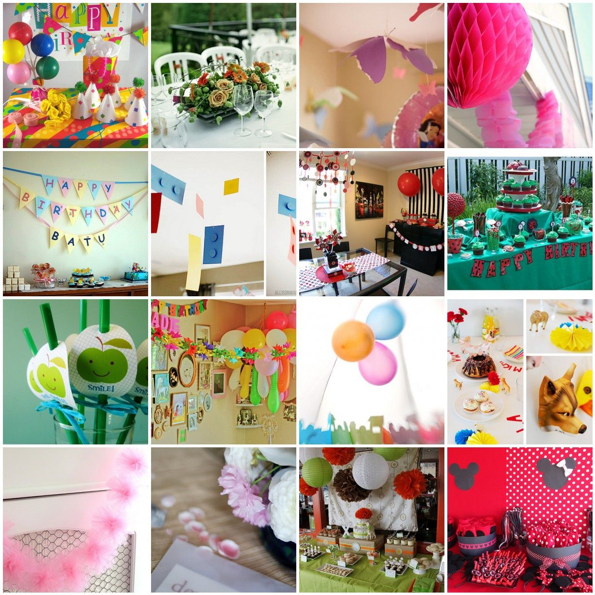 Homemade party decorations decoration ideas party for Home made party decorations