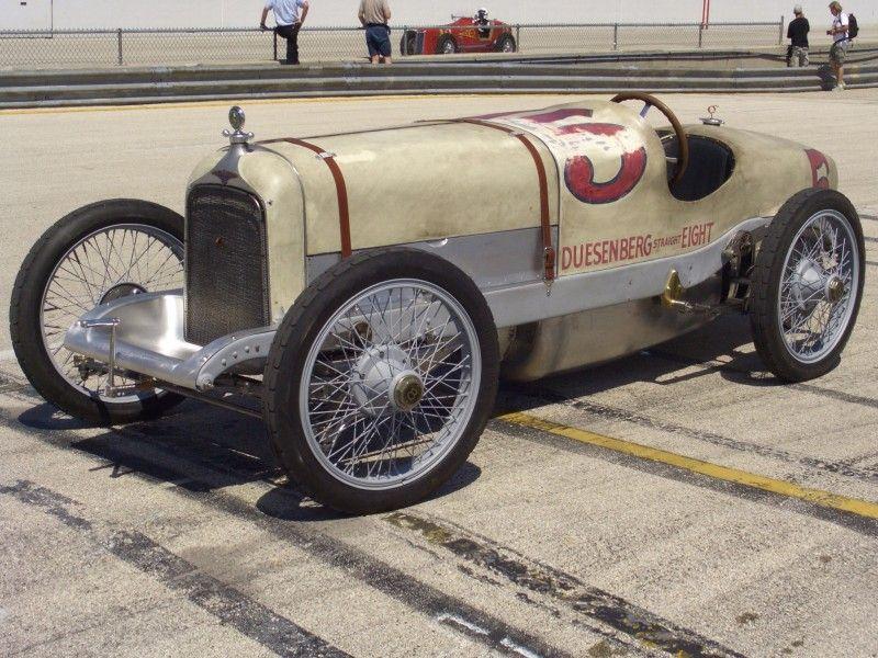 Duesenberg Indy 500 Race Car 1921 Old Race Cars Classic Cars