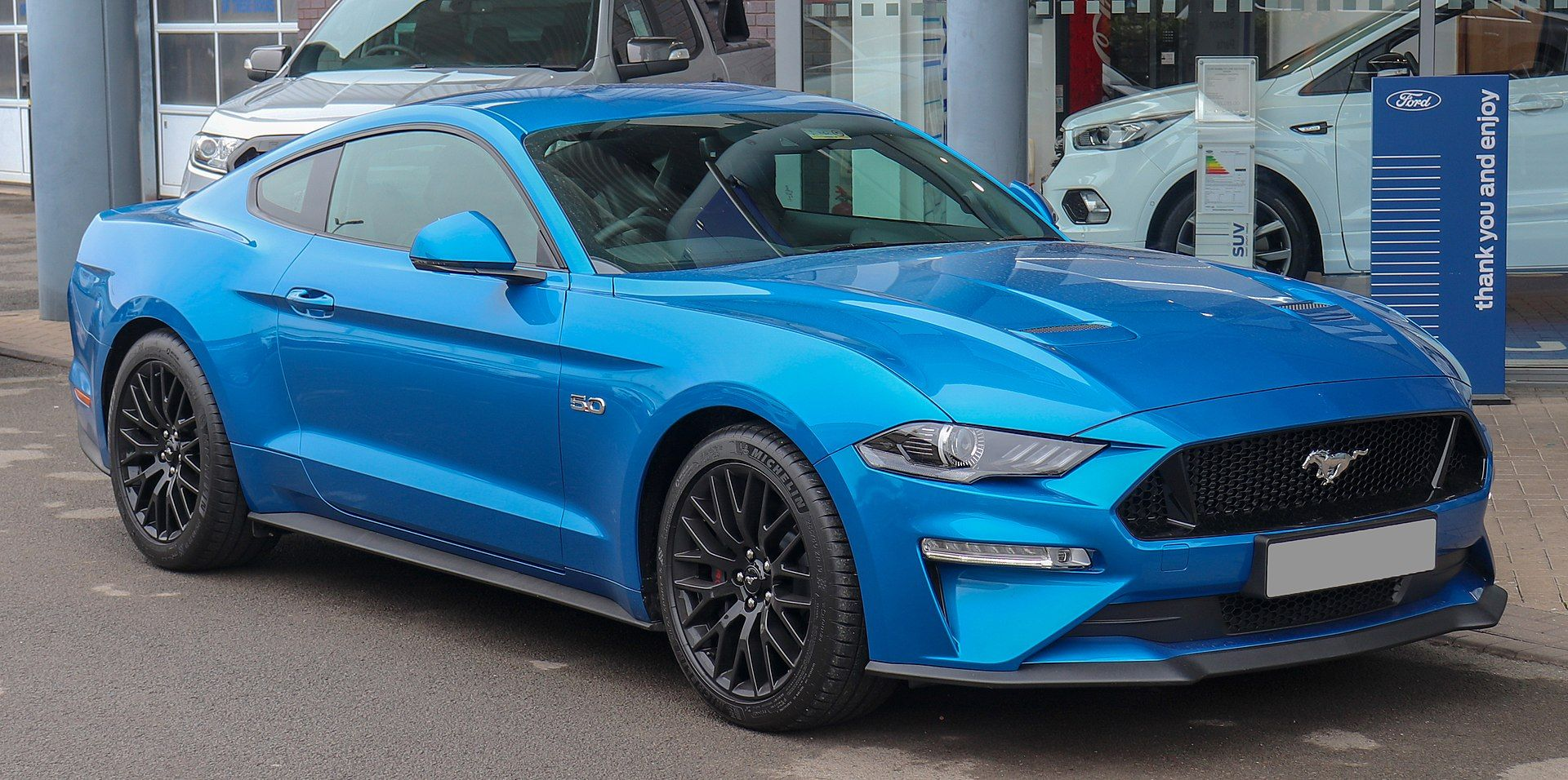 2019 Ford Mustang Gt 5 0 Facelift Ford Mustang Wikipedia
