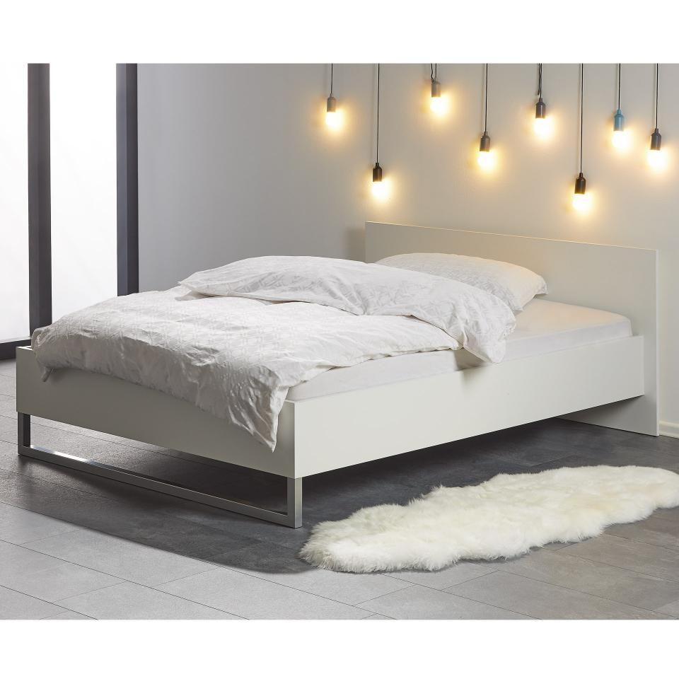 Bett Style 140x200 Weiss In 2020 Bett 140x200 Betten Kaufen