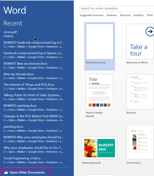 How to Edit PDF Files with Microsoft Word 2013