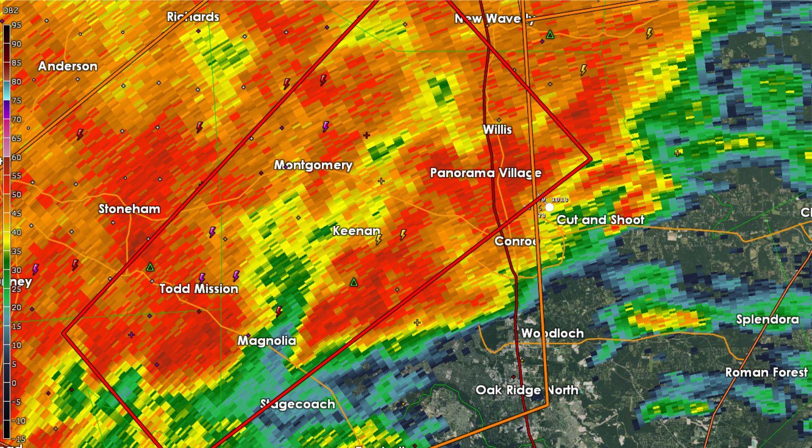 Tornado Warning Harris Walker Waller Montgomery Grimes Counties Till 815pm Texas Storm Grimes County Tornado Warning