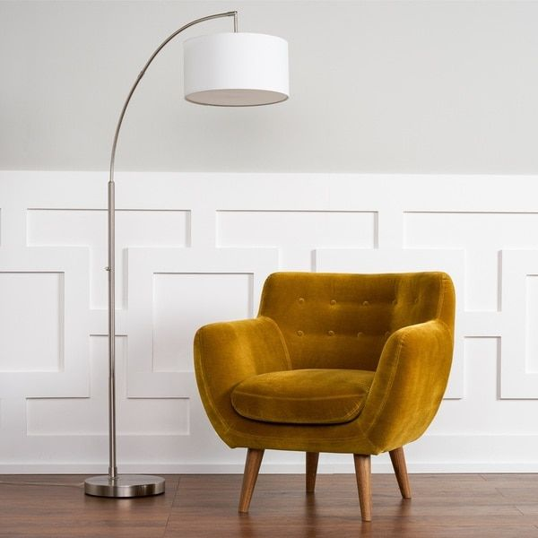 Rhodes Mid-Century Modern Mustard Yellow Tufted Arm Chair by RST ...