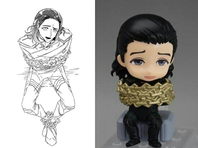 Loki Fanart Toy Thor Ragnarok Cr 삶걀 Loki Marvel Loki Fanart Loki Drawing