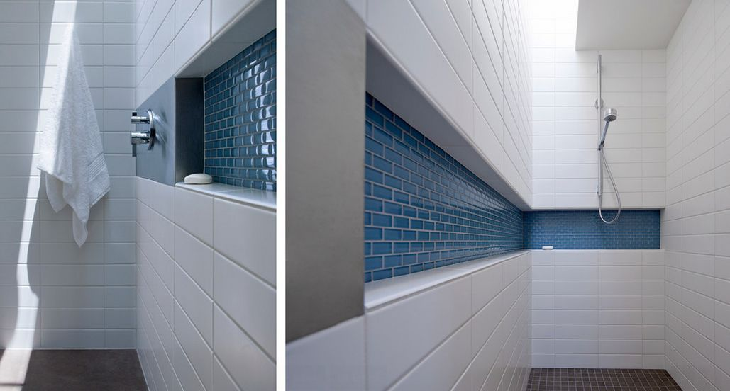 How To Make Shower Niches Work For You In The Bathroom Shower Niche Bathroom Design Shower Shelves