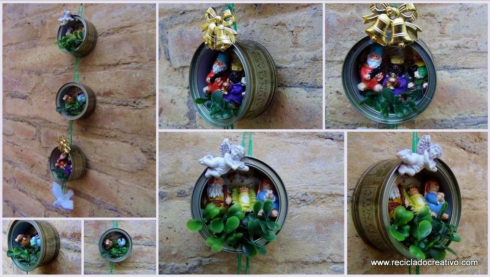Manualidades recicladas buscar con google reciclado - Buscar manualidades de navidad ...