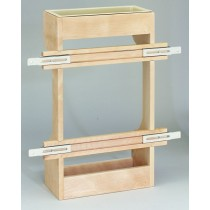 16 1/2 Wooden Sink Door Storage Trays