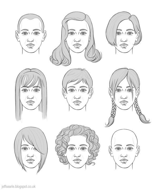 jeff searle drawing hair drawings