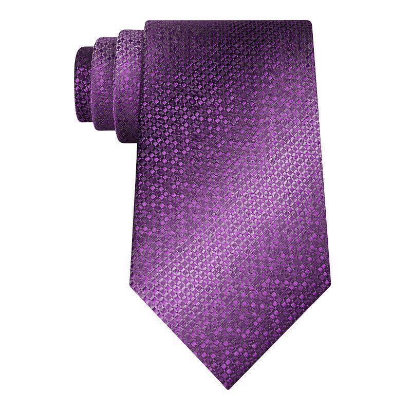 Men's Van Heusen Patterned Tie, Purple