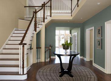 Lovely Hallway Paint Colors Benjamin Moore