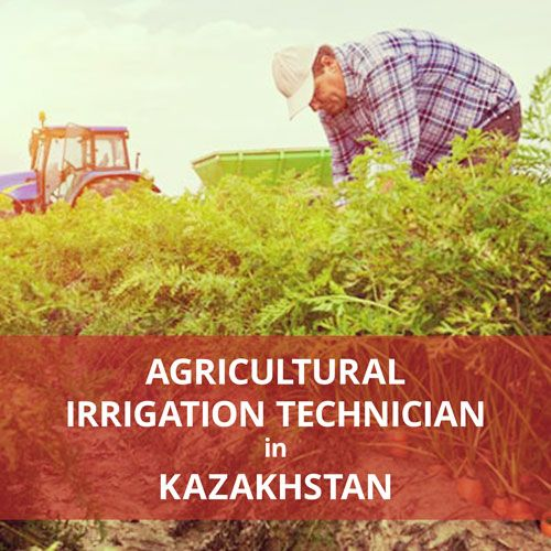 Put your irrigation skills to work and volunteer in Kazakhstan for