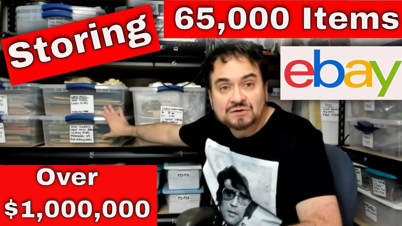 How We Store Over 1 000 000 In Ebay Inventory 65 000 Items