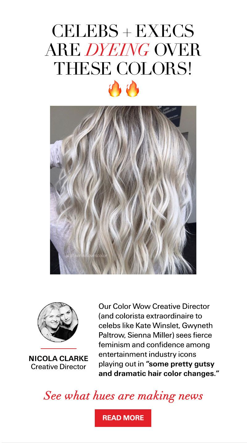 Pin By Barbara Zwick On Gray Hair Dramatic Hair Colors Color Wow Colorista