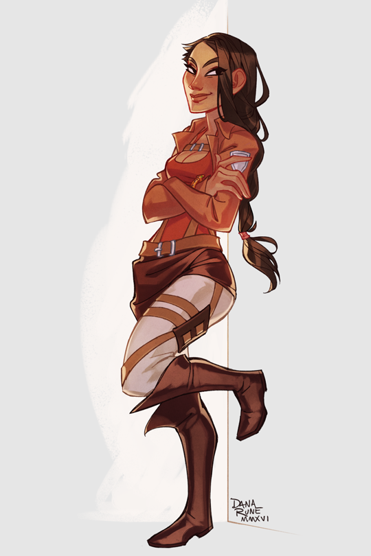 Dana Rune Original Character Commission For