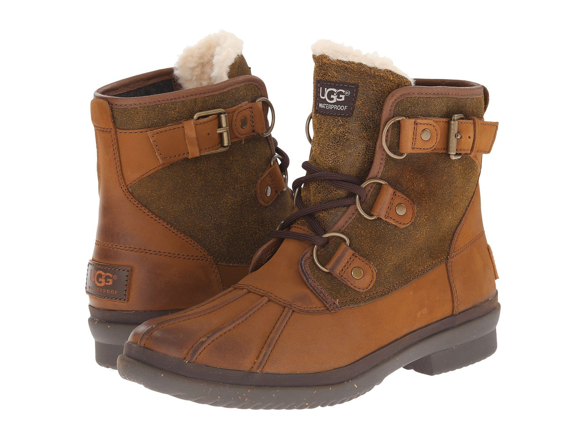 Great Womens Casual Shoes - UGG Cecile Chestnut Leather
