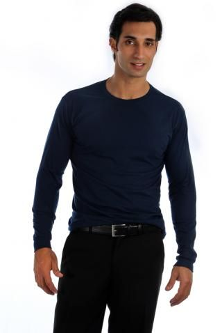 e732dfe2f8 Camiseta Manga Longa - Uniforme Masculino - Yoshida Hikari - Uniformes  Sociais para Empresas - uniformes sob medida