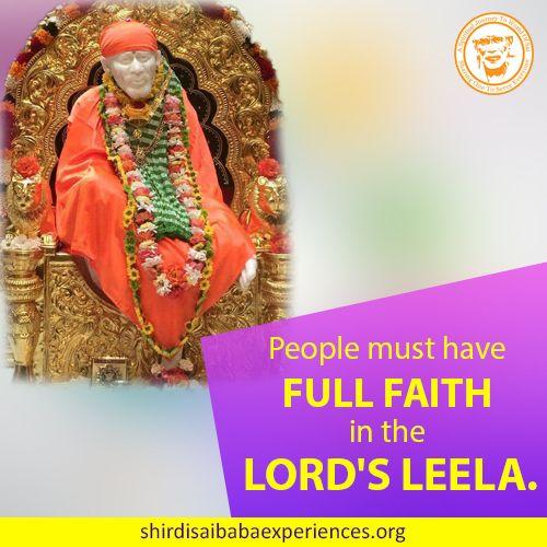 Have Full Faith