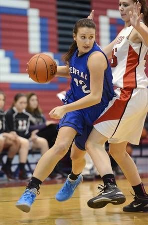 Burlington Central Not Flying Under The Radar This Year Basketball Girls Burlington White Jersey