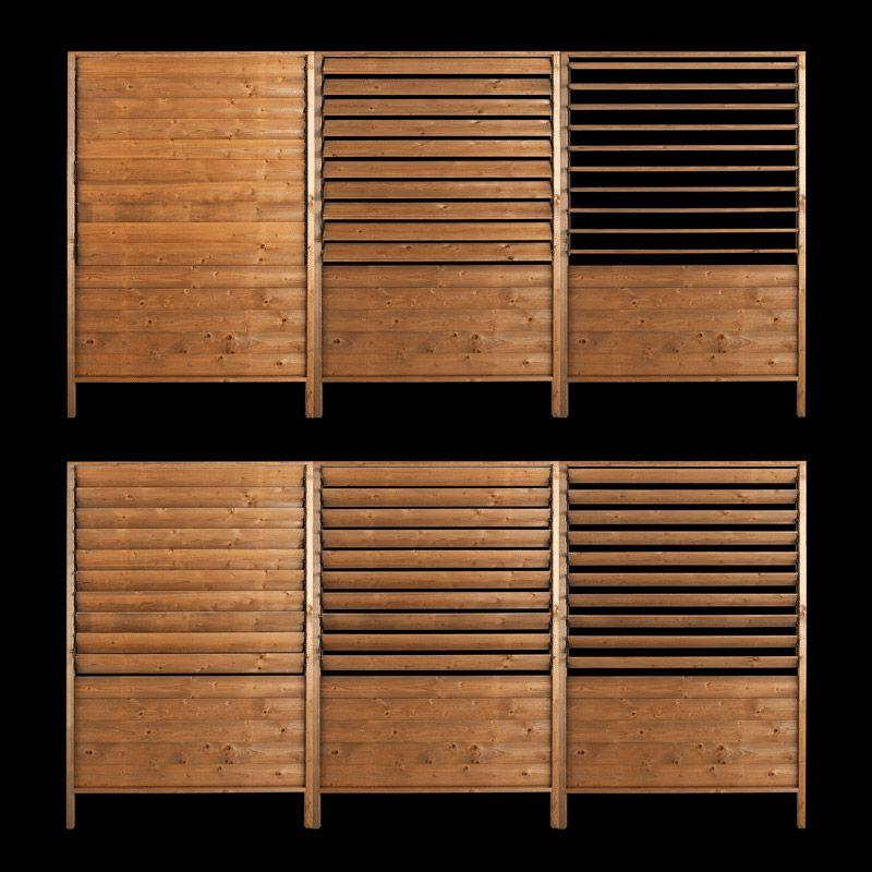 panneau lames orientables sun h180cm pergola. Black Bedroom Furniture Sets. Home Design Ideas