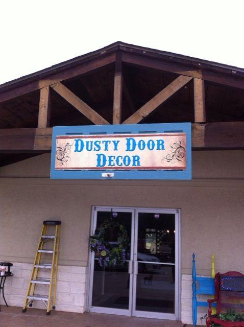 Dusty door decor whitehouse tx