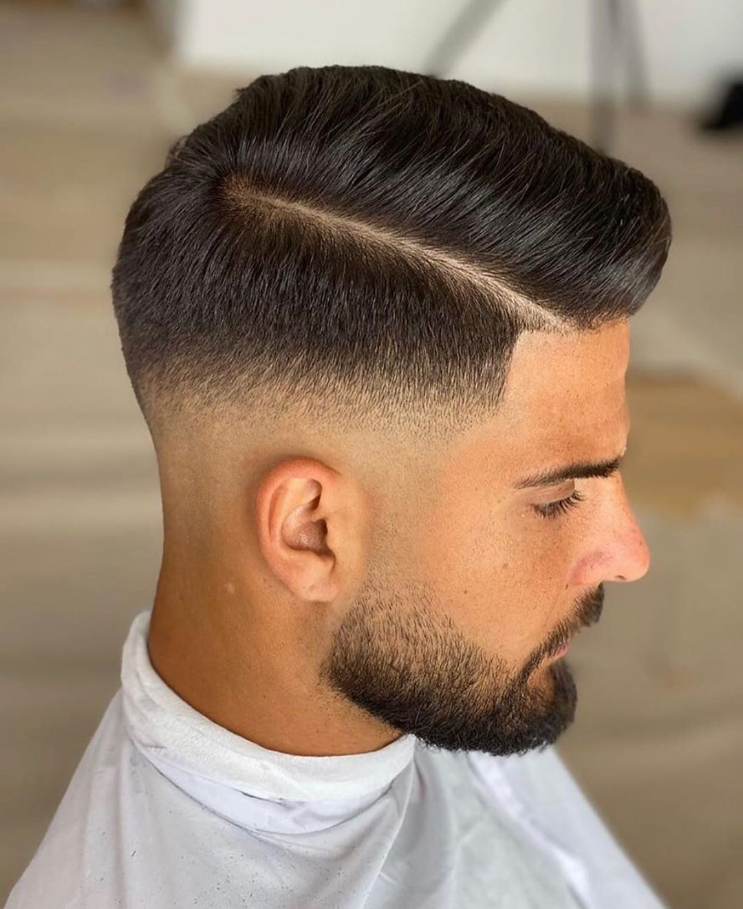 Men S Hairstyles On Instagram Clean Finish Follow Mens