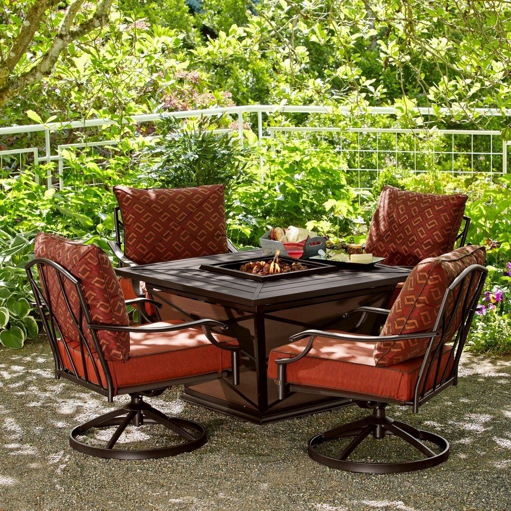 Fred Meyer Patio Set With Images Patio Set Patio Decor Fire