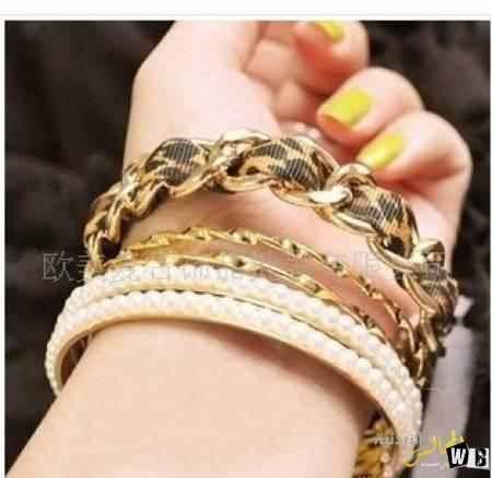 صور اكسسوارات روشة اكسسوارات هندية تجنن Embellished Bracelet Leather Bracelet Pink Bracelet