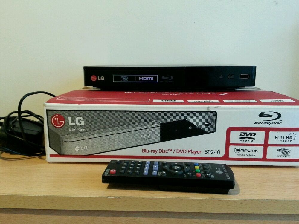 Details about LG BP240 Blu-Ray DVD Player Full HD With