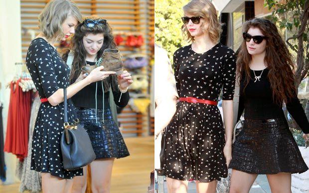 Taylor Swift e Lorde fazem compras juntas na Califórnia - Famosos - CAPRICHO
