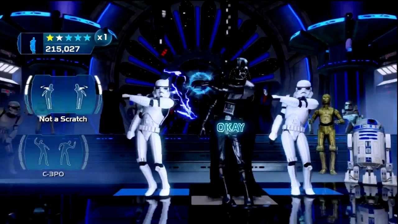 Vader Emperor Dance Off Star Wars Kinect Star Wars Music Star Wars Parody Star Wars