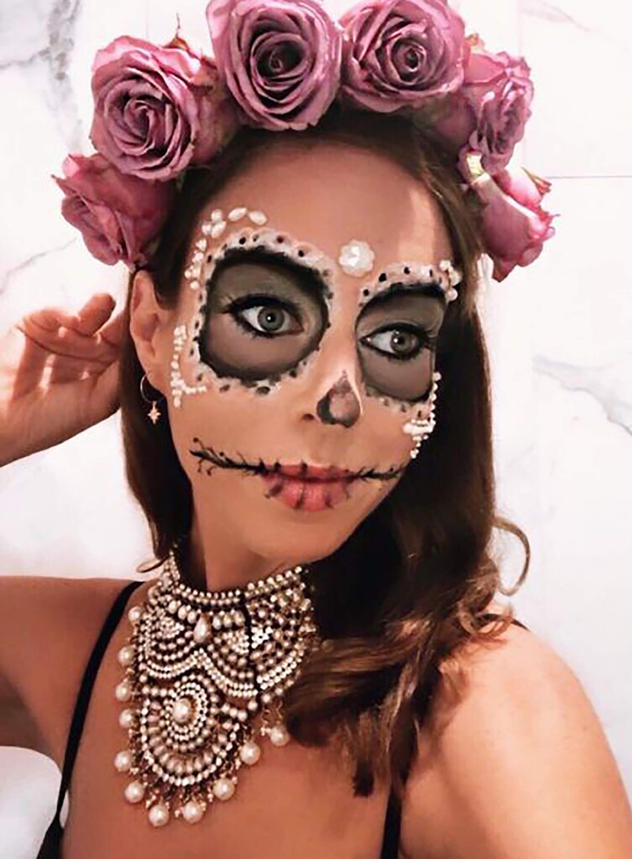 Día De Los Muertos Makeup Ideas For Halloween Dia de los