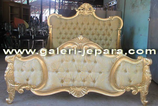 Indonesia Furniture   Gold Leaf French Bedroom Furniture   Buy