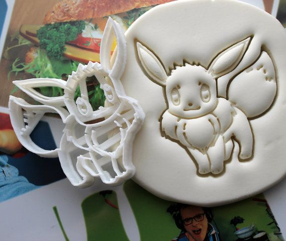 Pokemon Eevee Cookie Cutter Made From Biodegradable